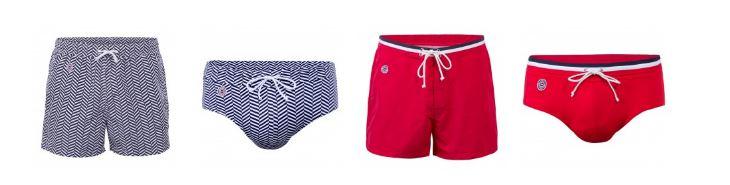 Collection de maillot de bain et short de bain Le Slip Français