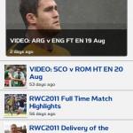 La coupe du monde de rugby sur votre mobile