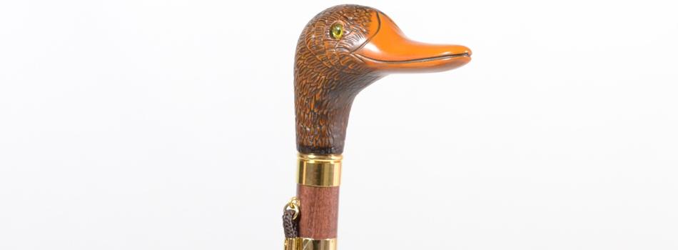 parapluie poignée canard