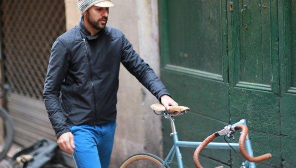 veste coupe-vent et étanche vélo