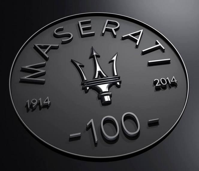 Logo Maserati 100 ans