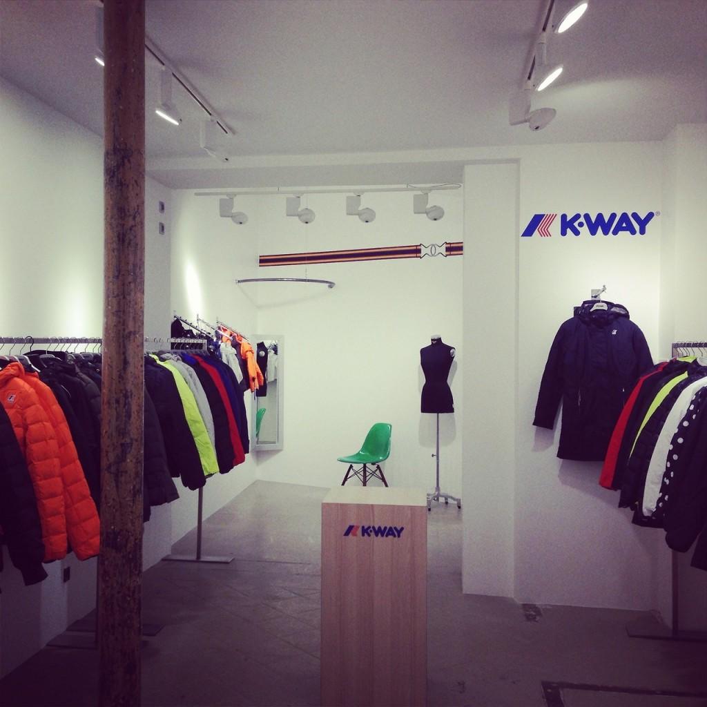 Boutique Kway Paris rue de poitou