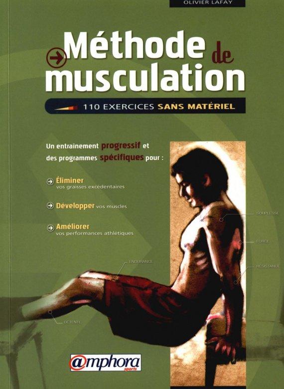 Livre Méthode de musculation Lafay