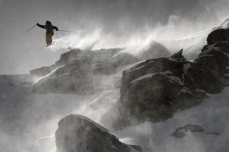 Ski freeride © Crystal Galerie / AFP