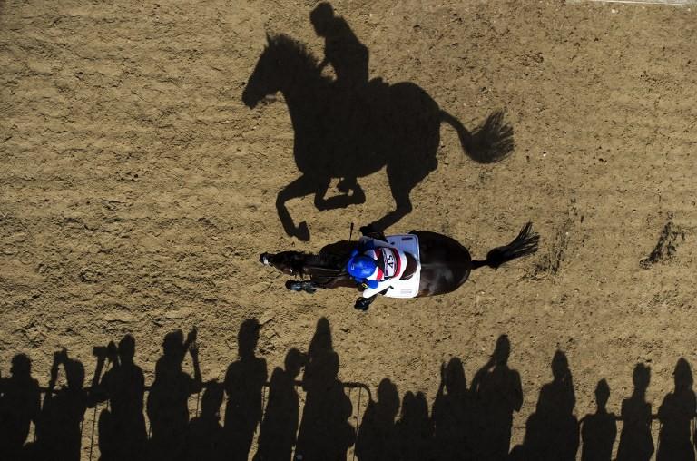 Equitation © Crystal Galerie / AFP